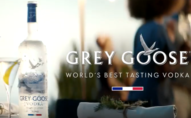 Grey Goose Vodka – ingrediente final